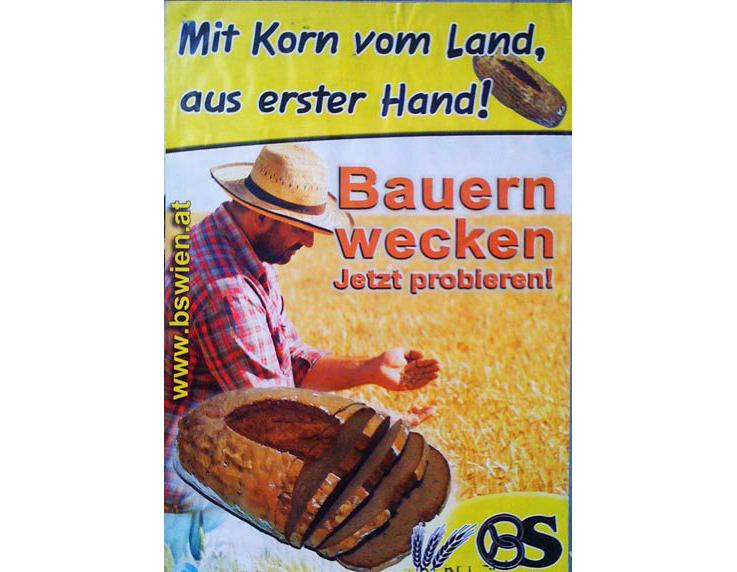 Mit Korn vom Land, aus erster Hand! Bauern wecken jetzt probieren!