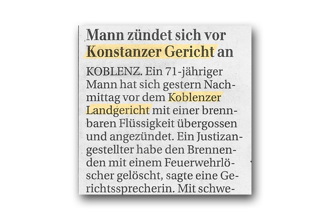 Konstanzer und Koblenzer Gericht
