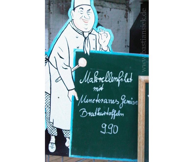 Makrellenfilet mit Meneteranes Gemüse
